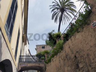 An den arabischen Baedern - Palma de Mallorca