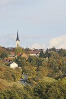 Towen and castle Schillingsfürst