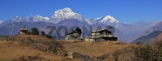 Seventh highest mountain of the world, Dhaulagiri