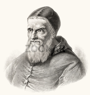 Pope Julius II, 1443 – 21 February 1513, Pope from 1 November 1503 to his death