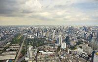 Top view city, Bangkok , Thailand