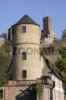 Kittsteintor und Burgruine in Wertheim