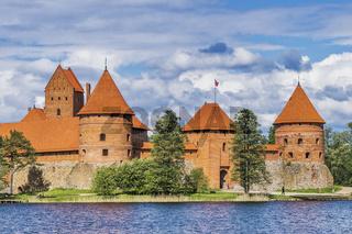 Wasserburg Trakai, Litauen | Trakai Island Castle, Lithuania