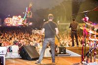 town festival Eisenhüttenstadt with concert