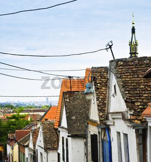 Zemun rooftops in Belgrade
