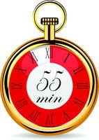 mechanical watch timer 55 minutes