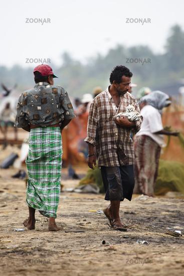 On the beach - Negombo, Sri Lanka