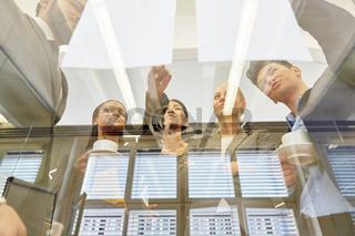 Planung und Analyse im Business Meeting