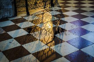 Detail shadow church