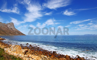 Küste am Clarence Drive, Südafrika, the coastline at Clarence Drive, South Africa