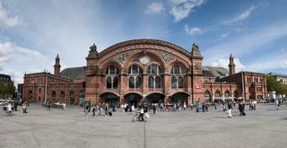 Der Hauptbahnhof in Bremen