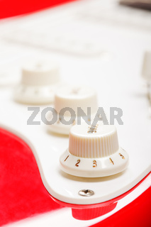 Guitar control knobs