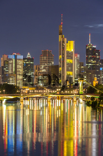 Germany Frankfurt skyline