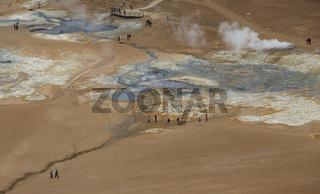 Geothermal Fields of Krafla Iceland
