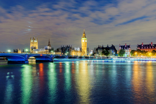 Big ben and river Thames