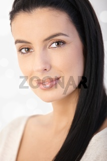 Portrait of attractive woman