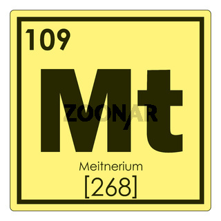 Meitnerium chemical element