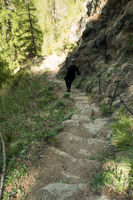 1000 Steps Canyon South Tyrol