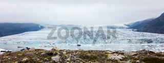 Jokulsarlon is a large glacial lake in southeast Iceland