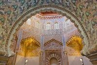 Arabic architecture in Granada Spain