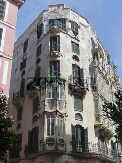 Alte Fassade Palma de Mallorca