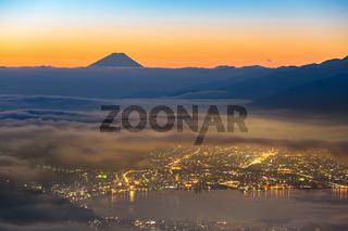 Mount Fuji Sunrise