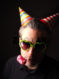 Dark Carnival or birthday portrait