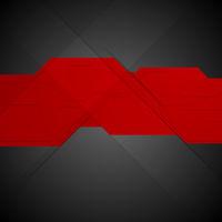 Red black contrast tech minimal design