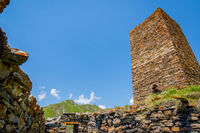 Fortress in Truso valley, Georgia