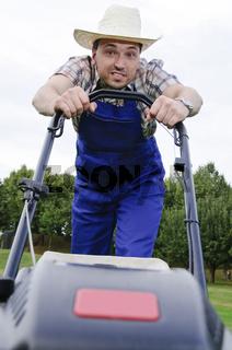 Der Rasenmäher Mann