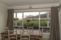 View from apartment to table mountain,
