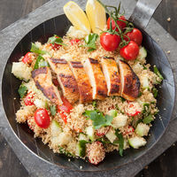 Chicken breast with couscous