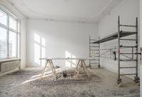 renovation - old flat during renovation  / restoration