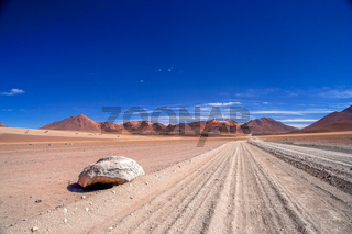 Corrugated Altiplano Road