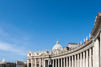 Bernini's colonnades and Saint Peter's