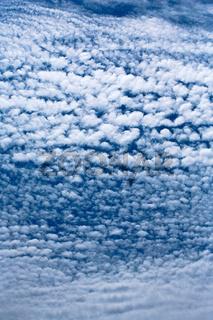 Altocumulus-Wolken