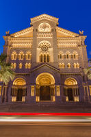 Cathedral church in Monaco