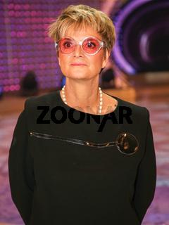 Fürstin Gloria von Thurn und Taxis nach der ARD TV-Show Schlager Countdown in Oldenburg am 25.03.2017
