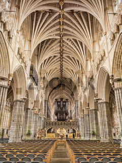 Exeter Cathedral The Nave