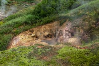 Vanna Bath Geyser in Valley of Geysers.