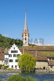 Kloster St. Georgen mit Stadtkirche, Stein am Rhein, Schweiz