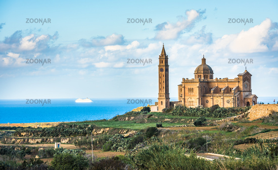 Basilica of the National Shrine of the Blessed Virgin of Ta Pinu, Gozo, Malta