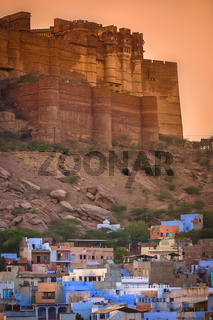 Meherangarh Fort in Jodhpur