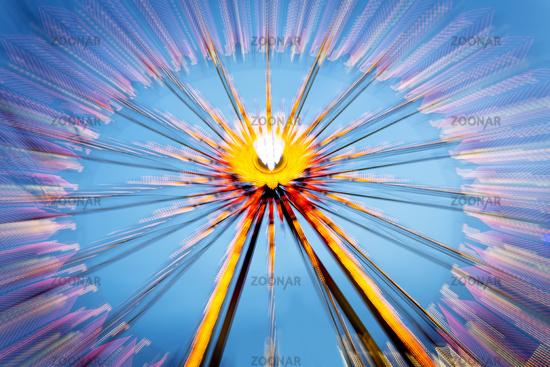 Ferris wheel at a folk festival, Germany