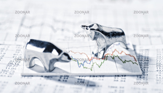 Bull and Bear and share prices