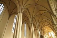 Interior of the Marienkirche in Berlin, Germany