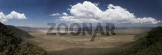 Ngorongoro Krater,Panorama, Schutzgebiet, Tansania,