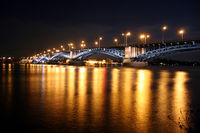 Theodor-Heuss-Brücke zwischen Mainz und Wiesbaden