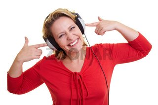 Musik hören mit Kopfhörern