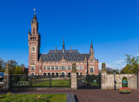 The Peace Palace - International Court of Justice in The Hague Netherlands